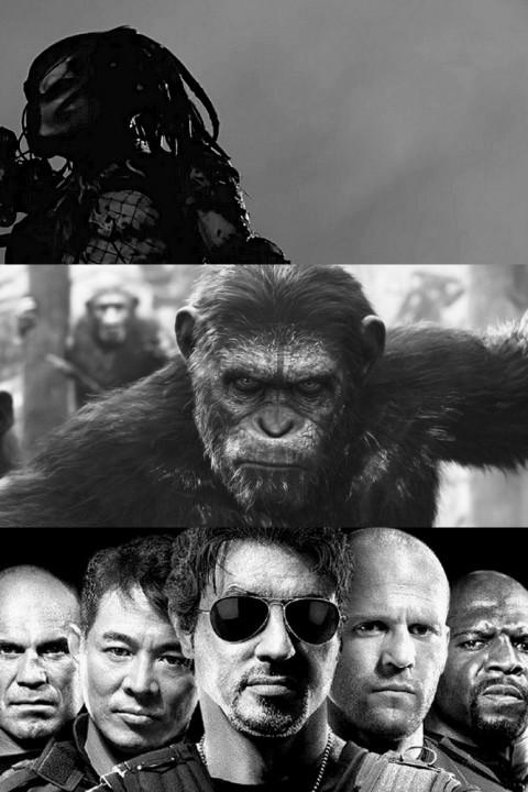 Episode 17: Predator | Planet der Affen: Revolution | The Expendables