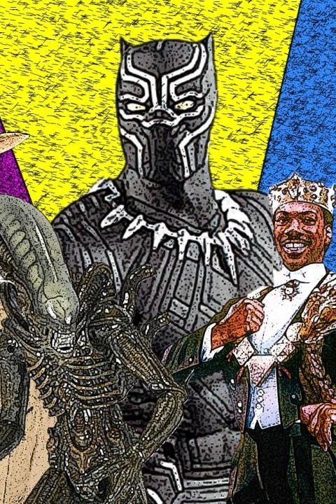Episode 100: Star Wars, Episode 4: Eine neue Hoffnung | Black Panther | Indiana Jones und der letzte Kreuzzug | Aliens | Der Prinz aus Zamunda